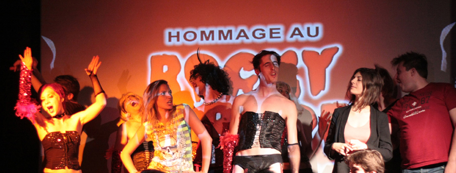Les Sweet Transvestites rendent Hommage au Rocky Horror Show
